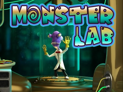 слот Monster Lab новоматик